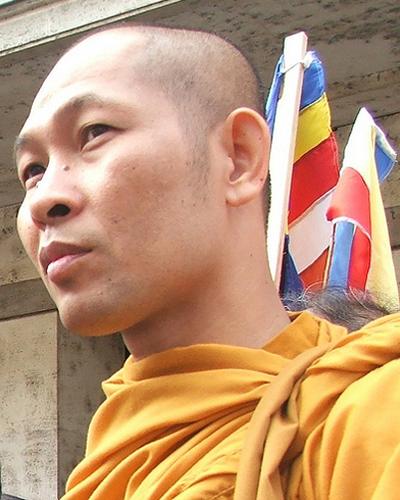 Đại Đức Trương Thạch Dhammo - Giám Đốc Uỷ Ban Phụ Trách Về Tôn Giáo Quốc Tế