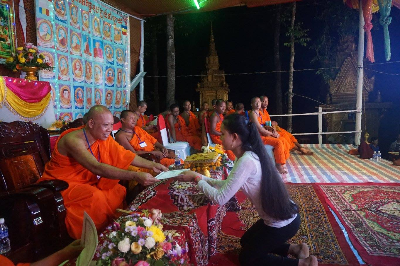 15-Exam in Kom Pong Spean 2016