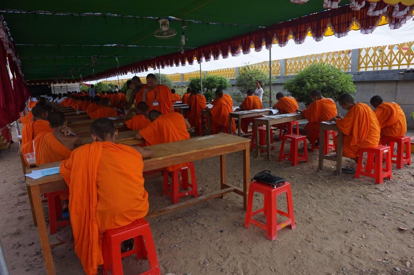 16-Exam in Kom Pong Spean 2016