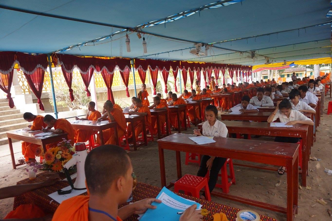 4-Exam in Kom Pong Spean 2016