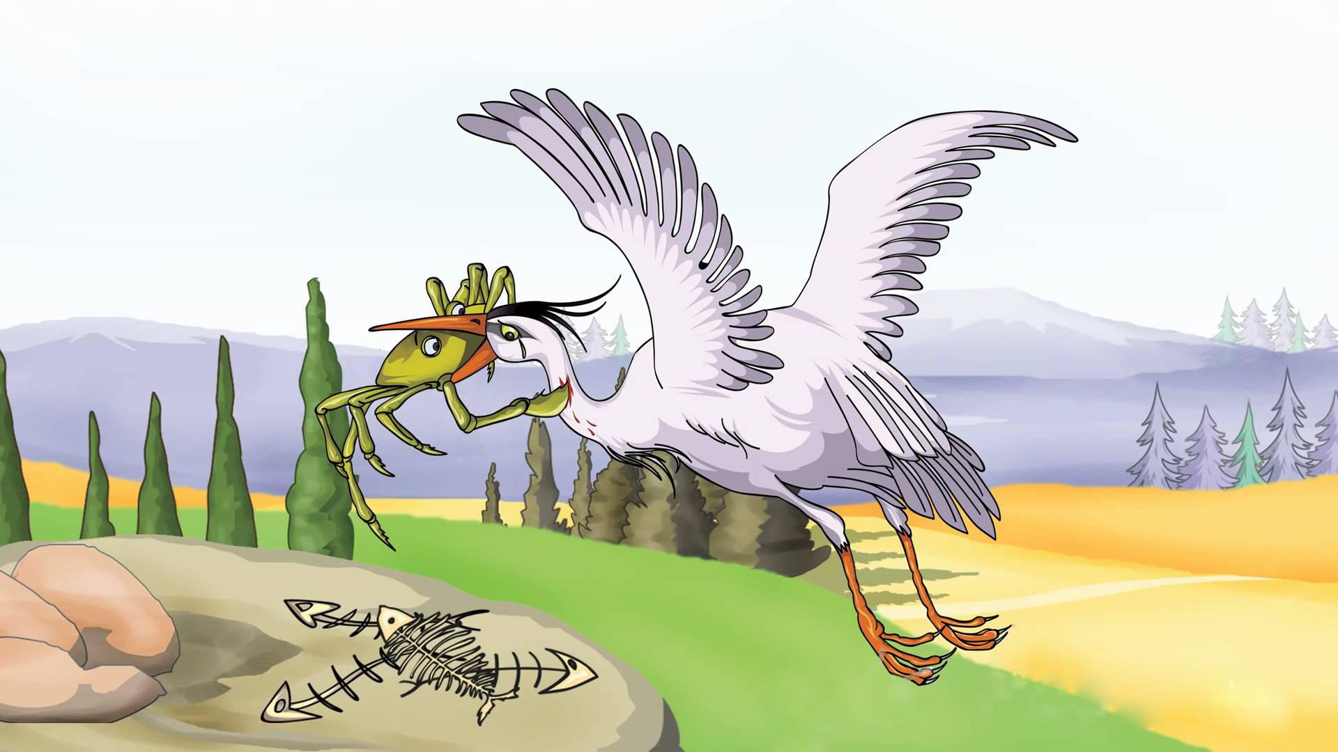 heron-and-crab