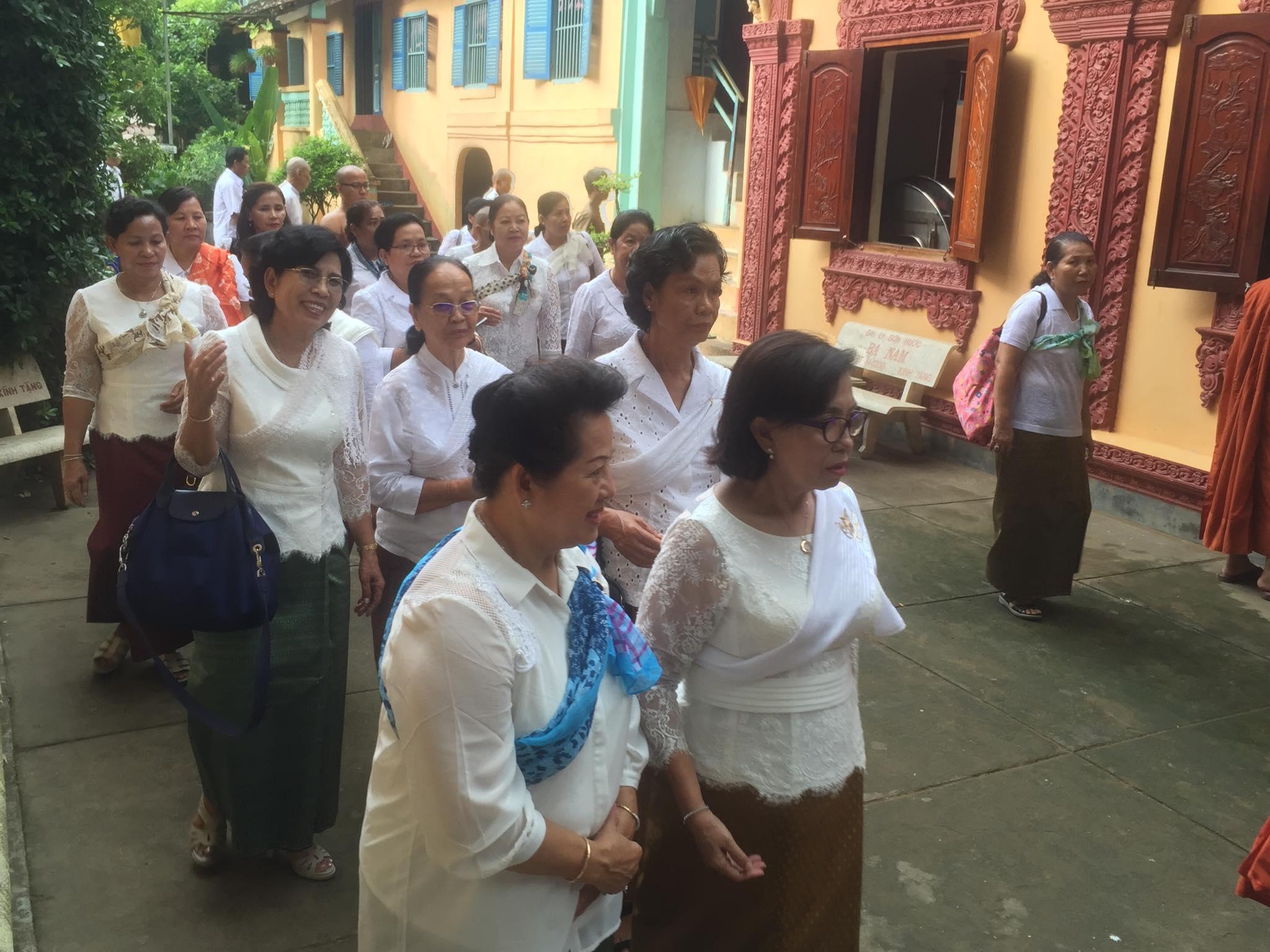 Cambodian delegation visit Kampuchea Krom