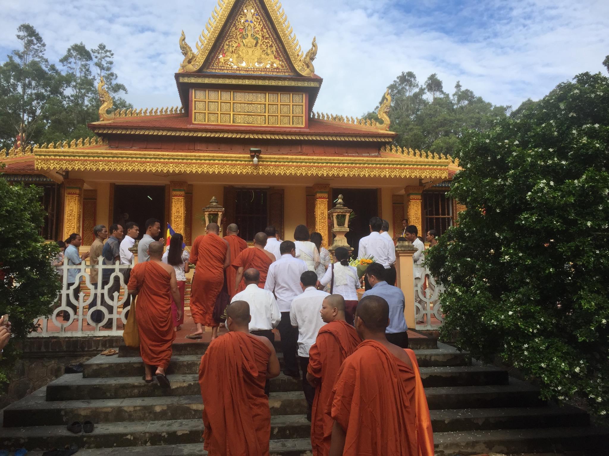Cambodian delegation visit Kampuchea Krom_5