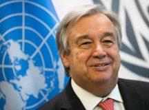លោក Antonio Guterres ជាអគ្គលេខាធិការ នៃ អង្គការសហប្រជាជាតិ ។